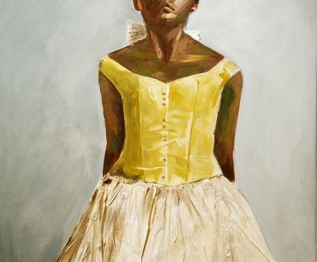 Bailarina Degas 1